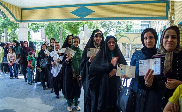 حضور پررنگ زنان در انتخابات