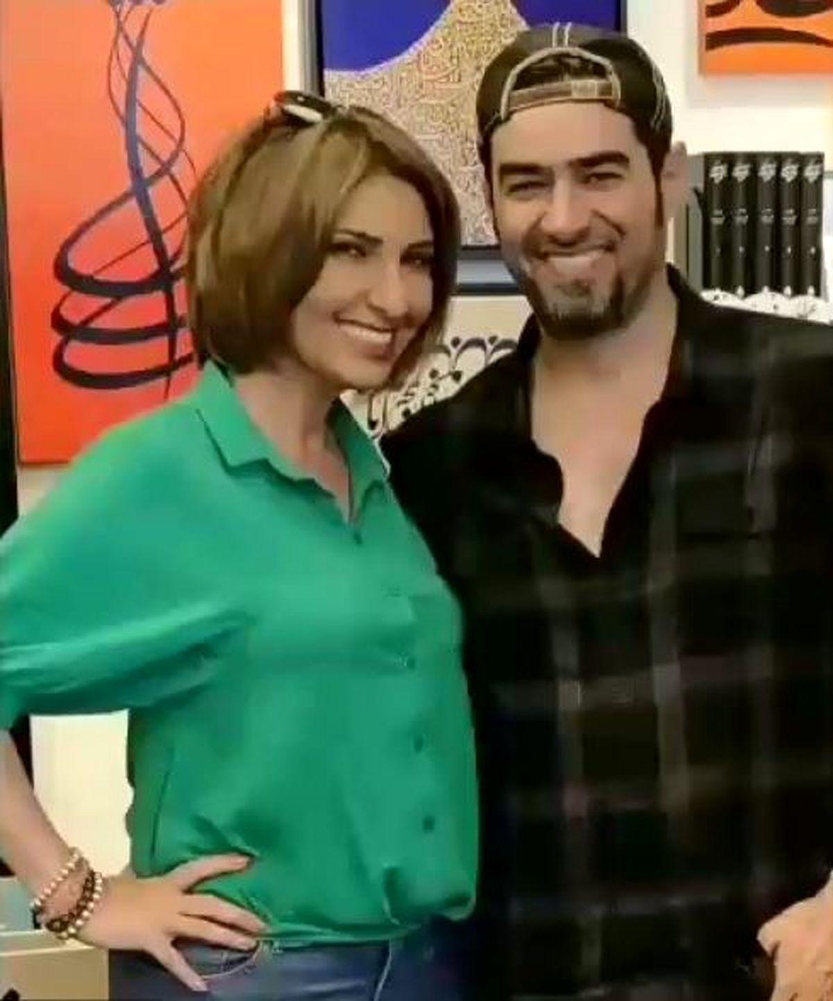 همسر جوان و خارجی شهاب حسینی - Copy