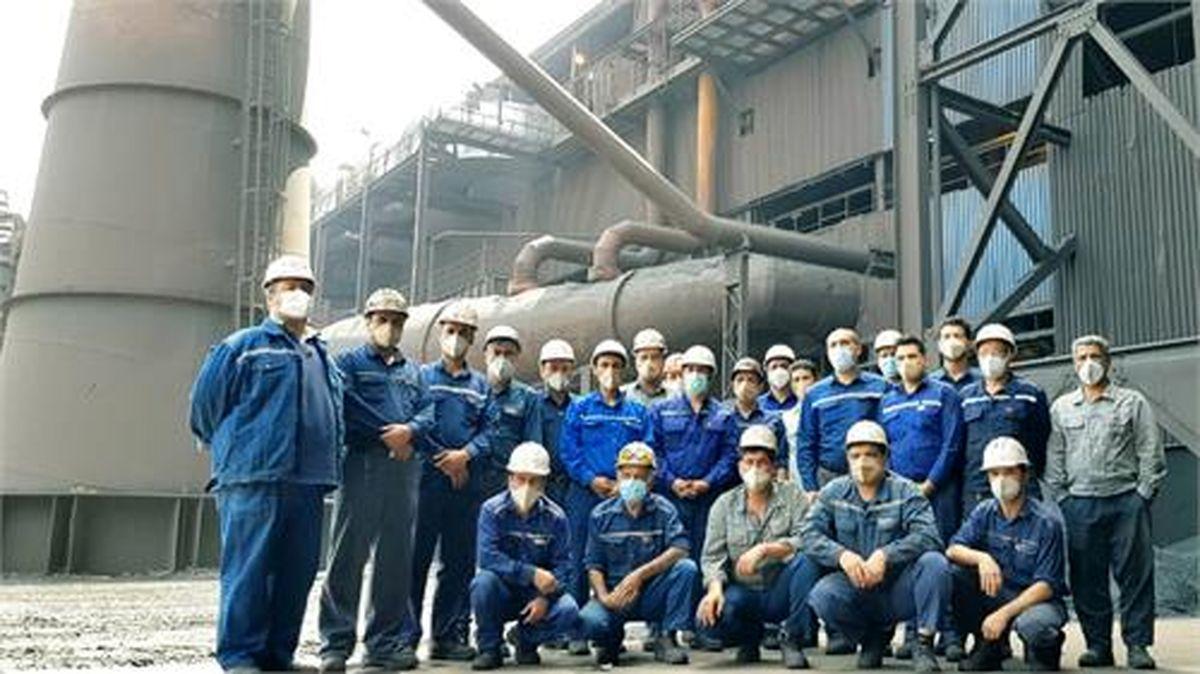 تعمیرات سالیانه فولاد خوزستان در واحد مواد اولیه ۲ انجام شد