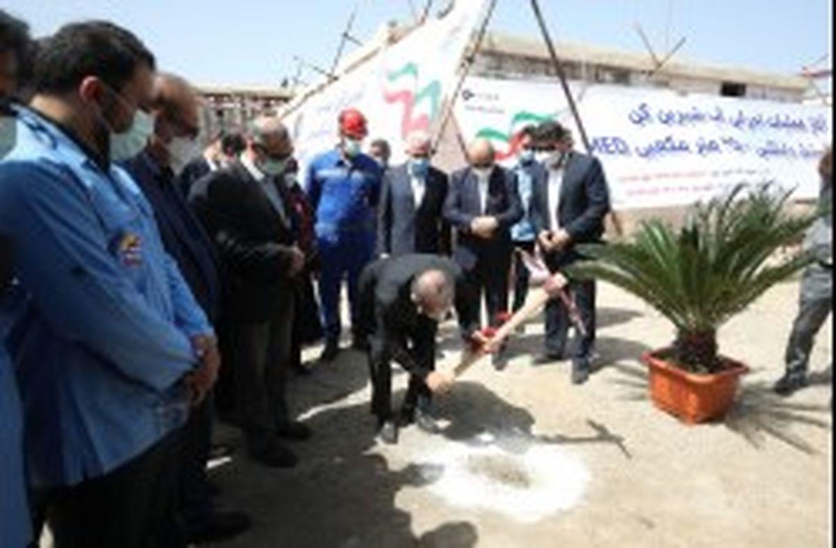 آغاز عملیات اجرایی دو طرح مهم عمرانی درشرکت آب وبرق کیش
