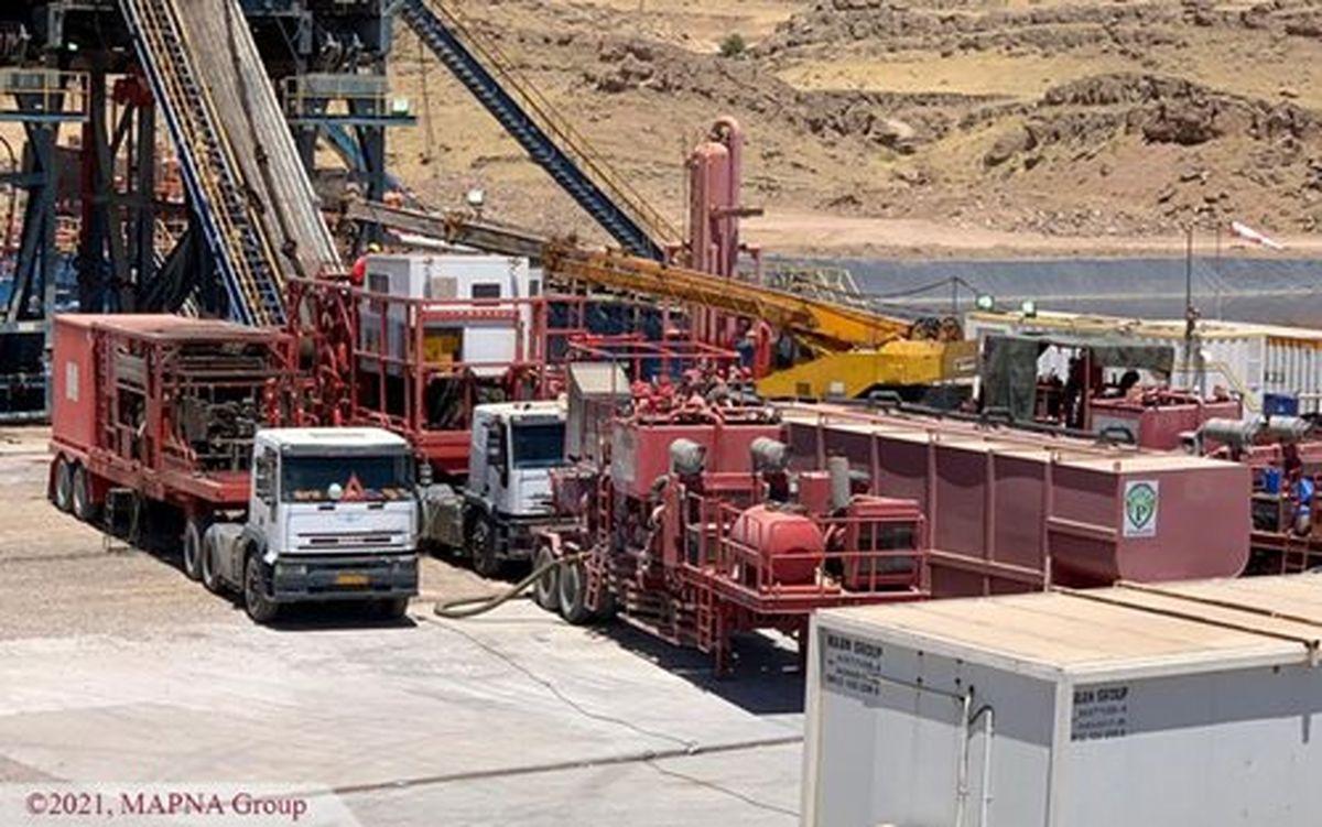 پایان عملیات حفاری و تکمیل چاههای شماره 13 و 14 میدان نفتی دانان