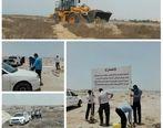 رفع تصرف 19.4هزار مترمربع  اراضی خالصه دولتی به ارزش 19.4میلیارد ریال در روستای کردوا قشم