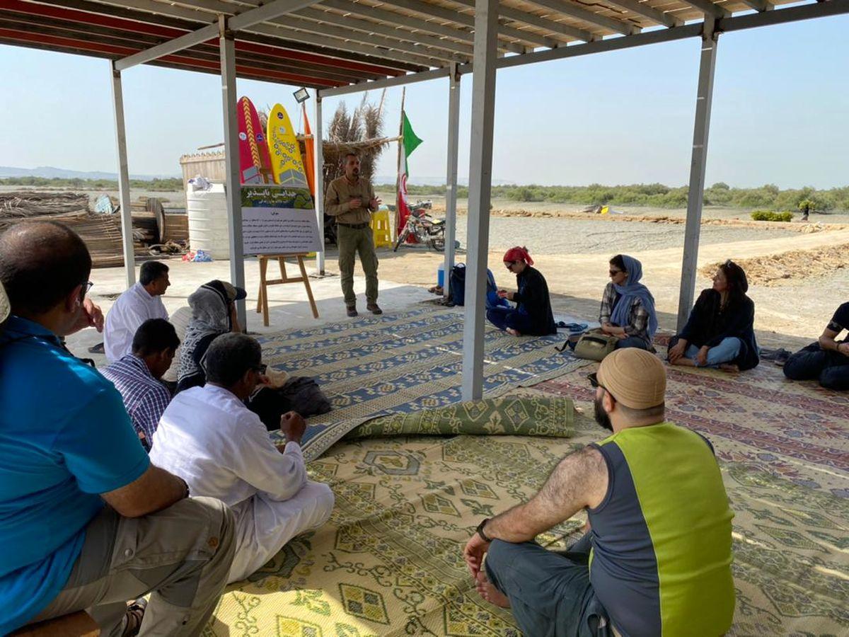 برگزاری کارگاه آموزشی توجیهی معیشت پایدار جنگل حرا به مناسبت رو جهانی حیات وحش