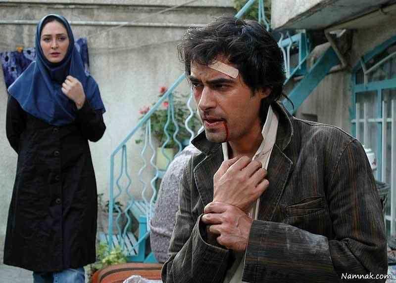 شهاب حسینی و الهام حمیدی در فیلم محیا