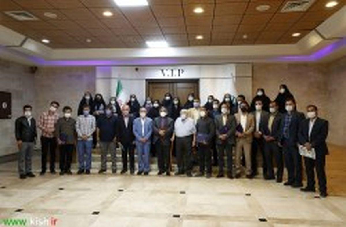تجلیل از فعالان رسانه ای ایثار و شهادت در کیش