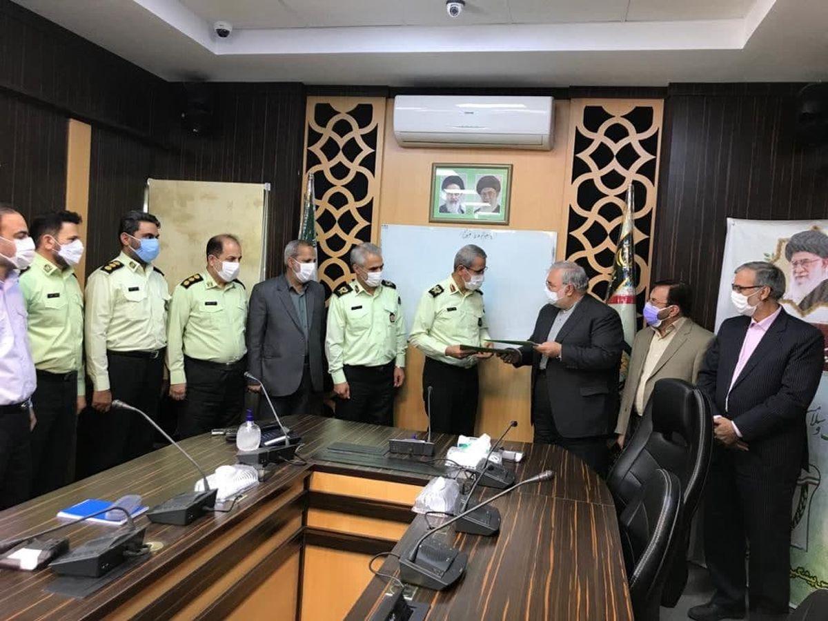 موسسه ملل به کارکنان پلیس پیشگیری ناجا وام قرض الحسنه پرداخت می کند