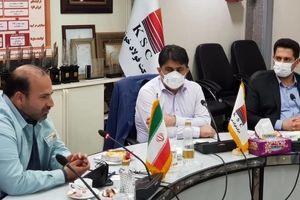 دیدار مدیرعامل فولاد خوزستان با اعضای صنایع کوچک استان خوزستان
