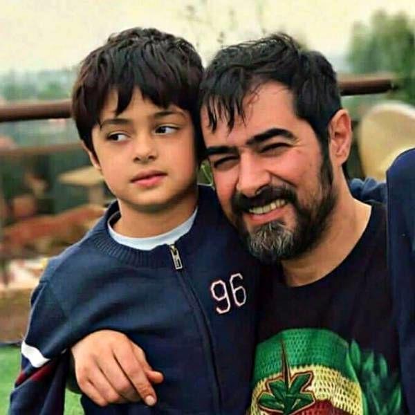 شهاب حسینی و پسرش