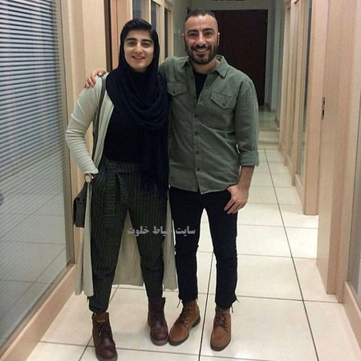 عکس جدید نوید محمد زاده و برادر زاده اش + عکس