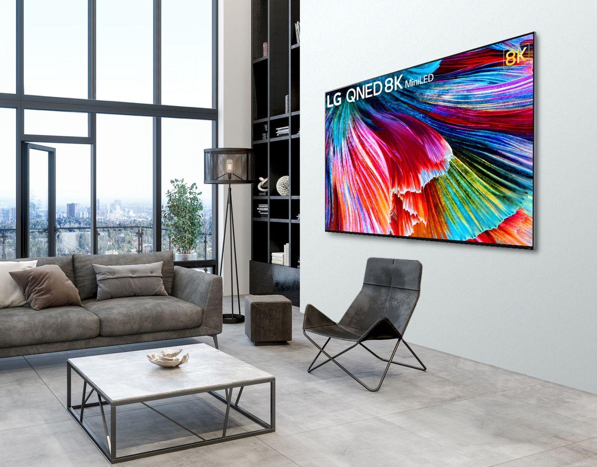 عرضه تلویزیون QNED MINI LED الجی، استانداردی جدید برای کیفیت تصویر ، در سراسر جهان