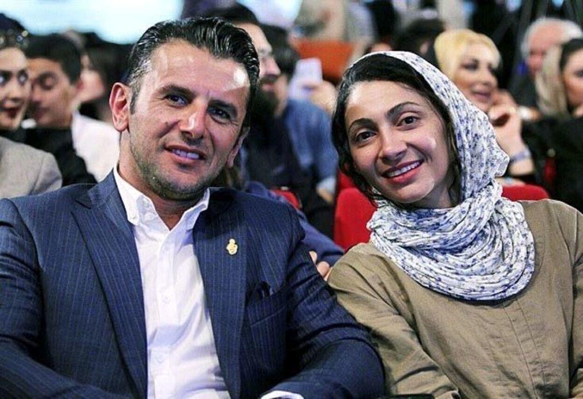 بیوگرافی و عکس جدید امین حیایی و همسر دومش
