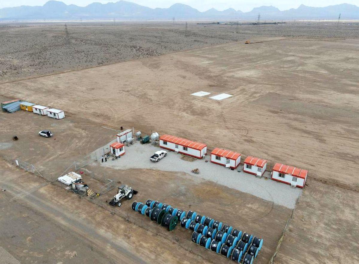 بهره برداری از نیروگاه خورشیدی 10 مگاواتی ؛ اردیبهشت امسال