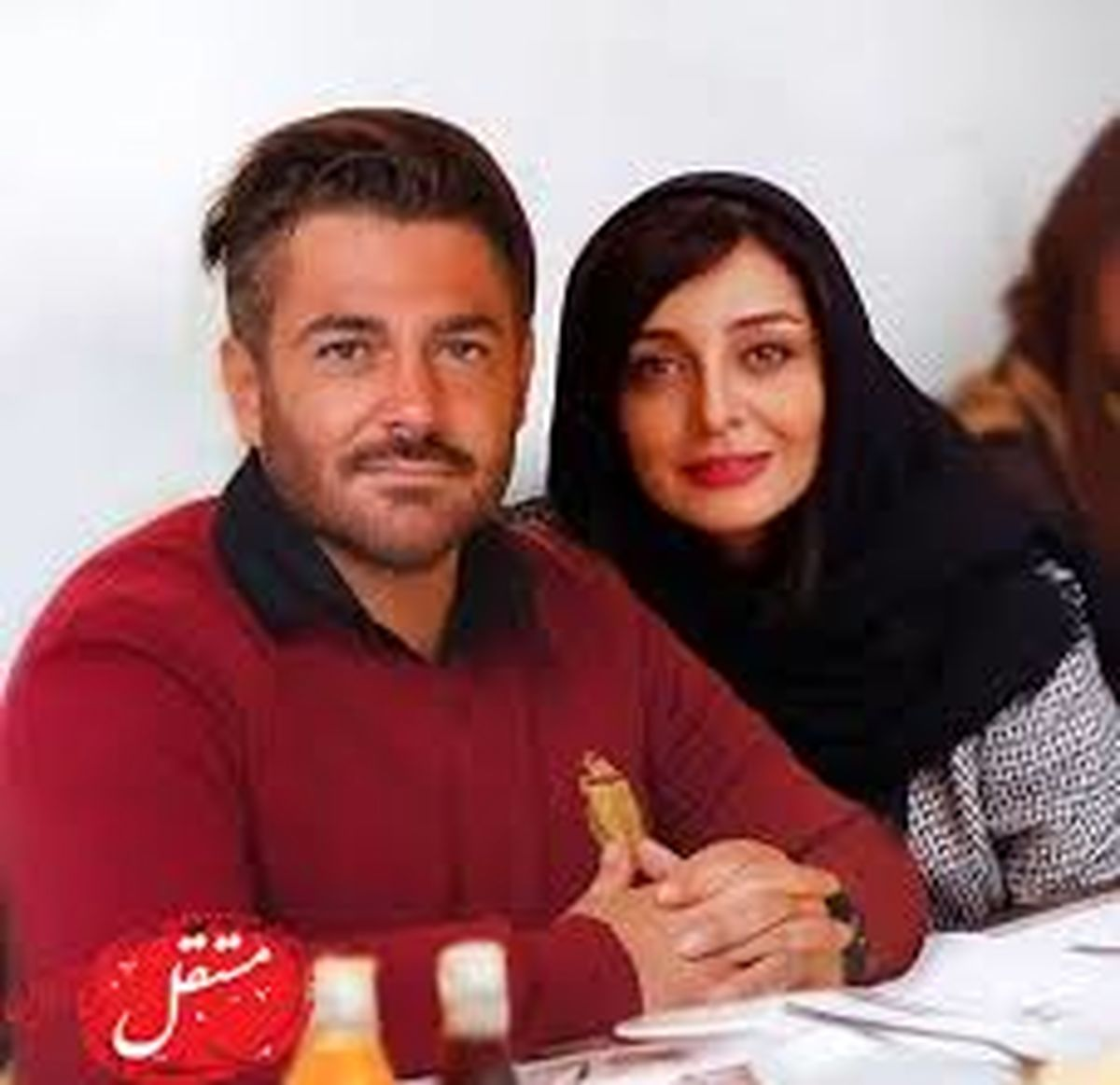 عکس جدید ساره بیات و همسر هنرمندش + عکس