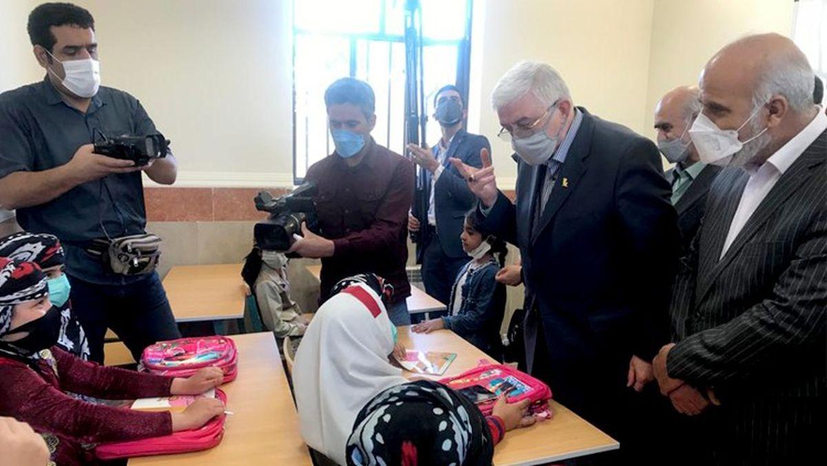 افتتاح مدرسه 2 کلاسه در روستای شیراوند