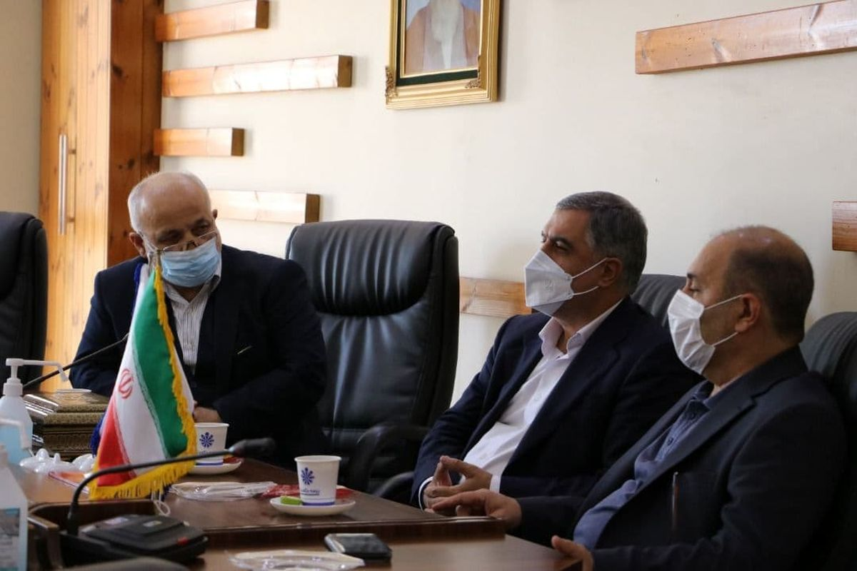 دیدار دبیر کل سندیکای بیمه گران ایران با مدیرعامل بیمه حکمت صبا