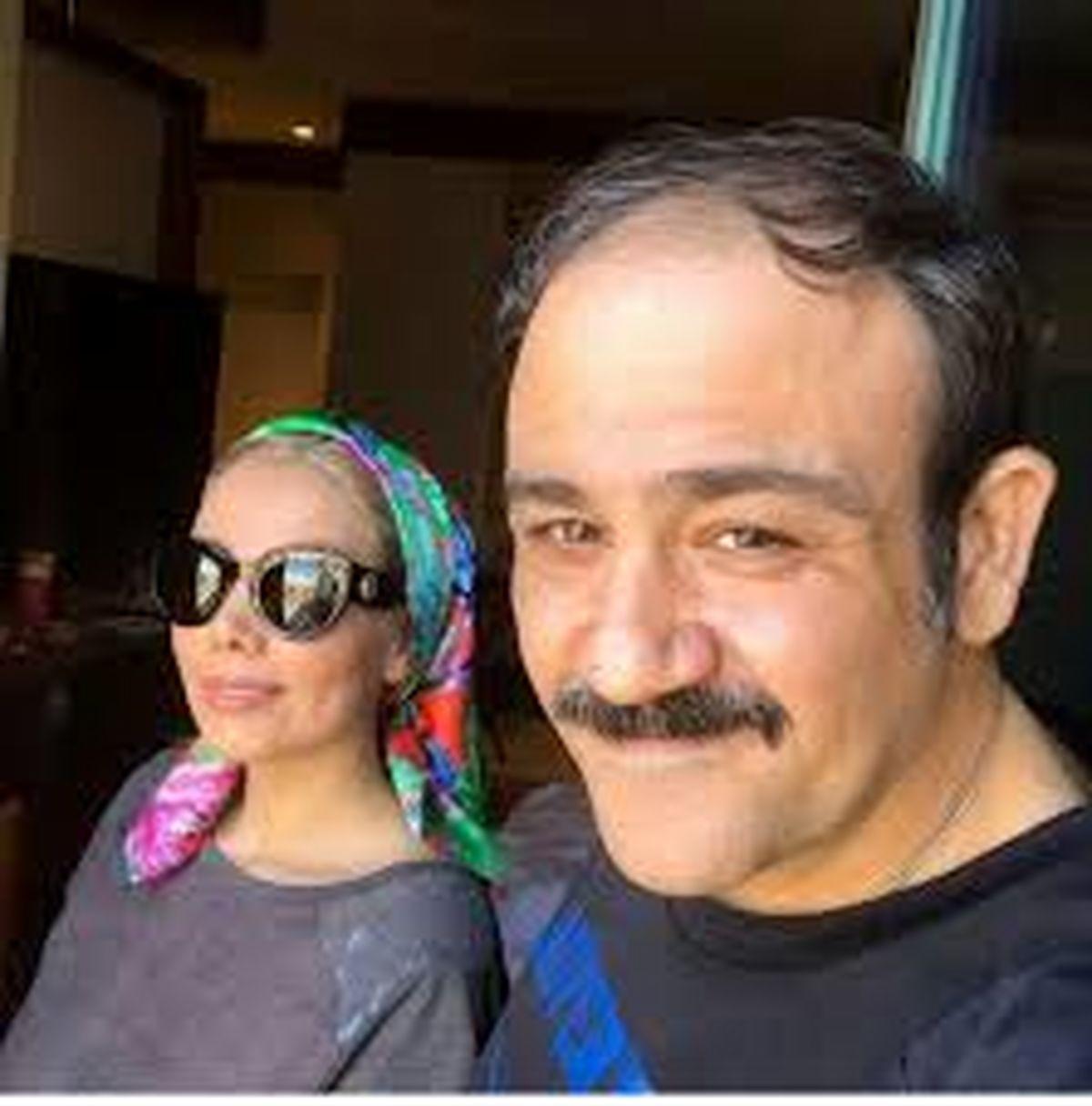 اختلاف سنی مهران غفوریان و همسرش + عکس