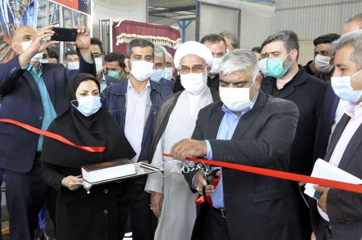 چهار پروژه توسعه ای مجتمع فولاد اسفراین افتتاح شد
