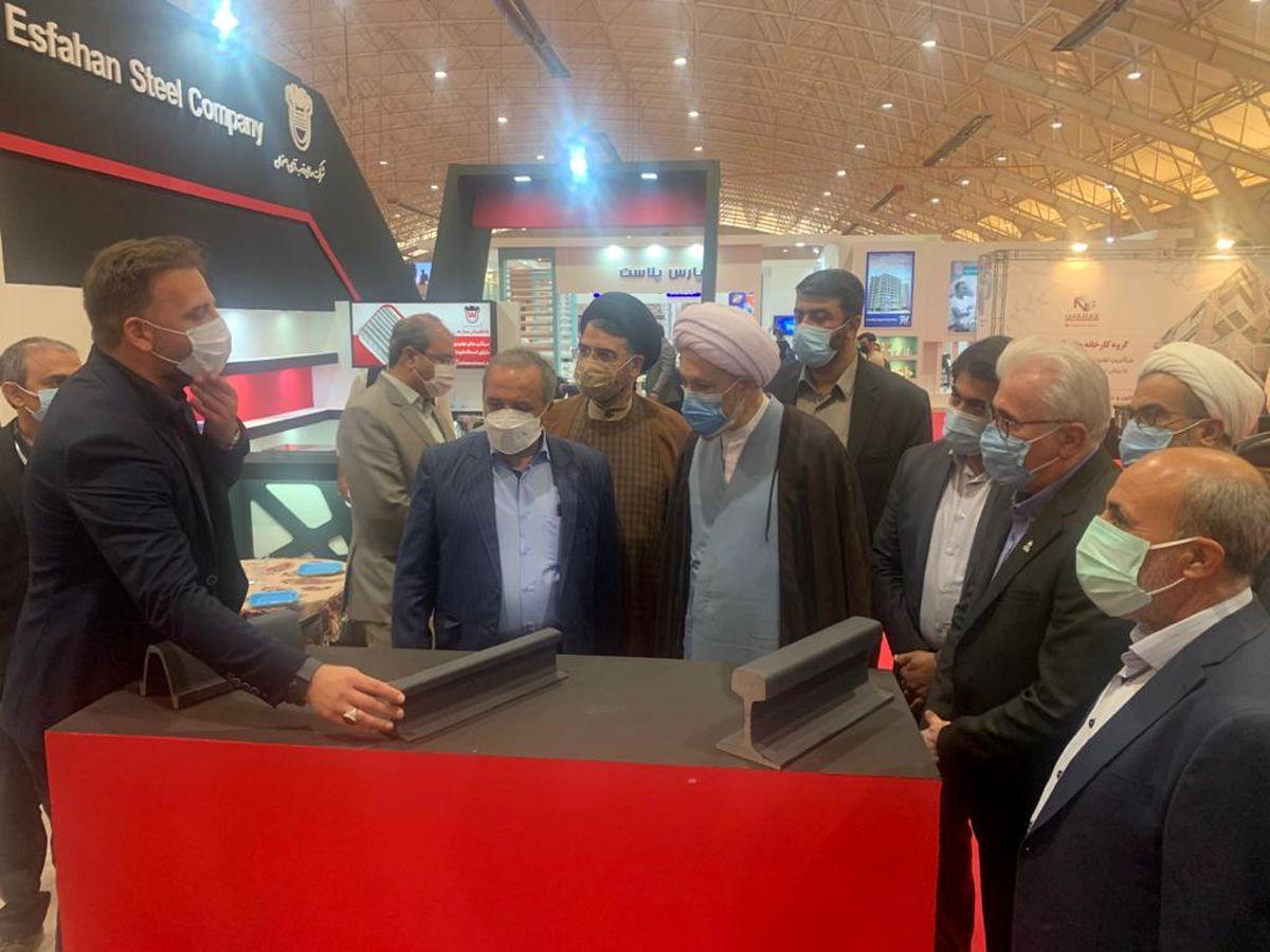 ذوب آهن اصفهان پیشگام صنایع فولادی ساختمانی است