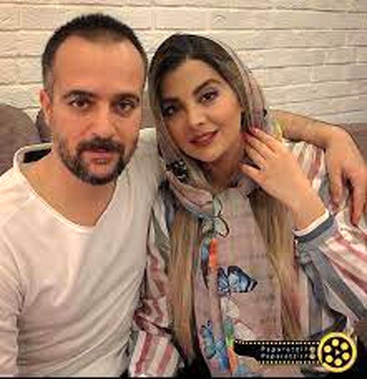 اختلاف سنی زیاد احمد مهرانفر و همسرش لو رفت / عکس