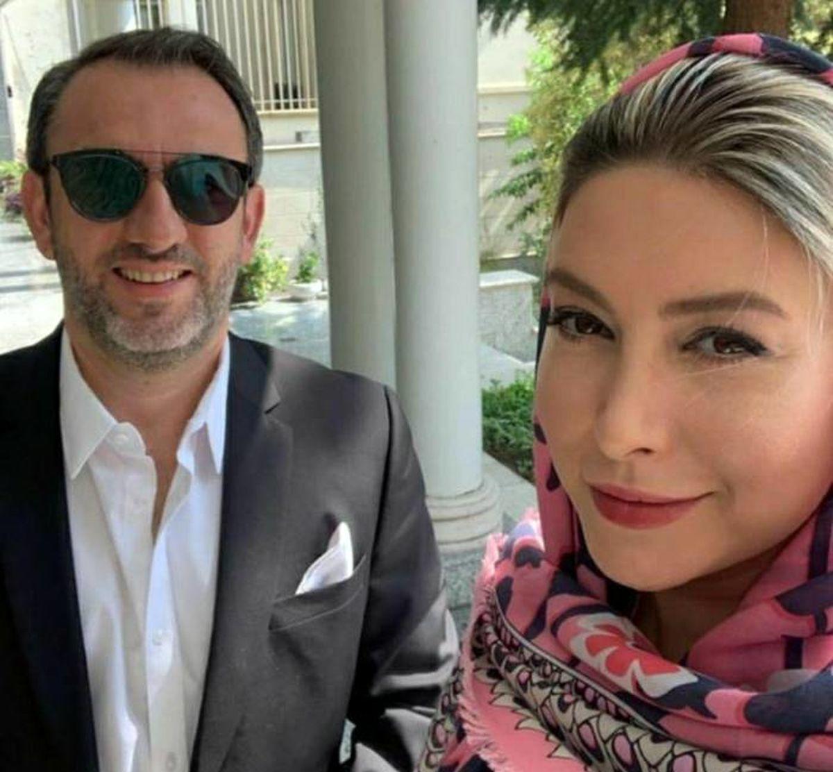 اختلاف سنی 27 ساله فریبا نادری و همسرش + عکس