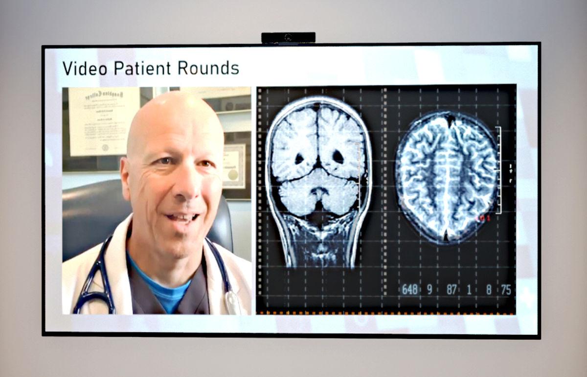 پلتفرم ویدیو کنفرانس الجی، ارائه راهکار پزشکی از راه دور مبتنی بر کلاود(Cloud)