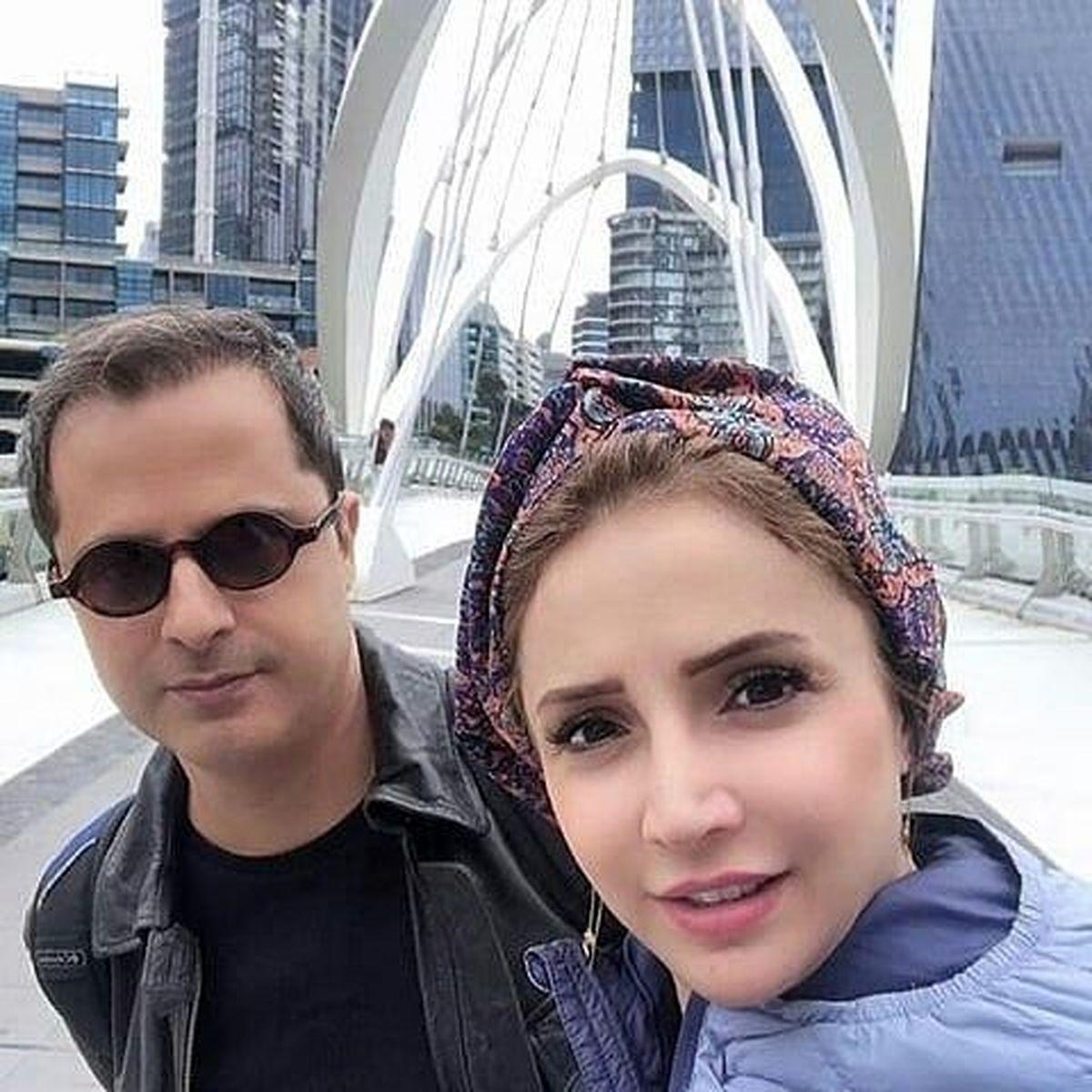 عکس همسر شبم قلی خانی + عکس