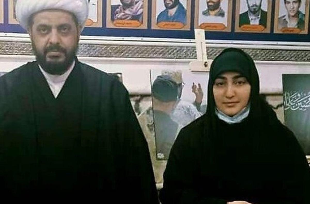 نخستین عکس از پدرشوهر زینب سلیمانی منتشر شد   بیوگرافی زینب سلیمانی