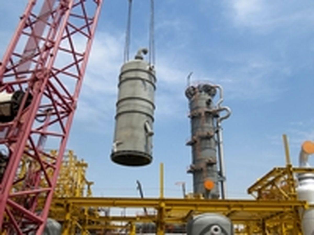 نصب موفقیت آمیز راکتورهای R-1003 و R-1002A و مبدل E-3007 در شرکت پتروشیمی آپادانا خلیج فارس