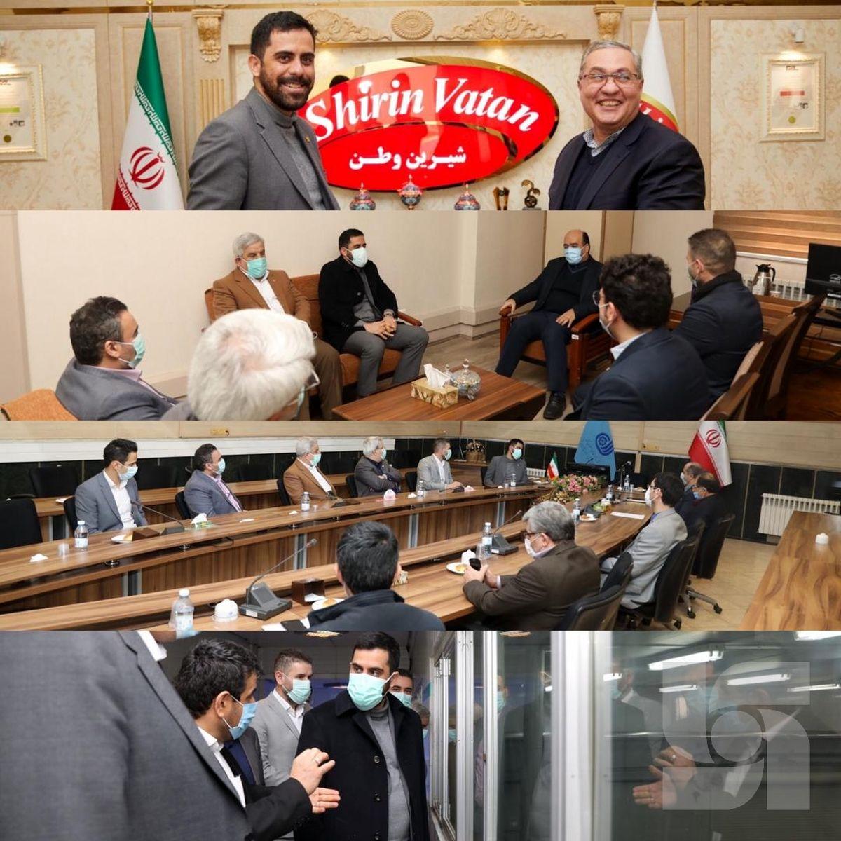 امضای ۲ قرارداد بیمهای بزرگ در سفر رئیس هیات مدیره بیمه سرمد به تبریز