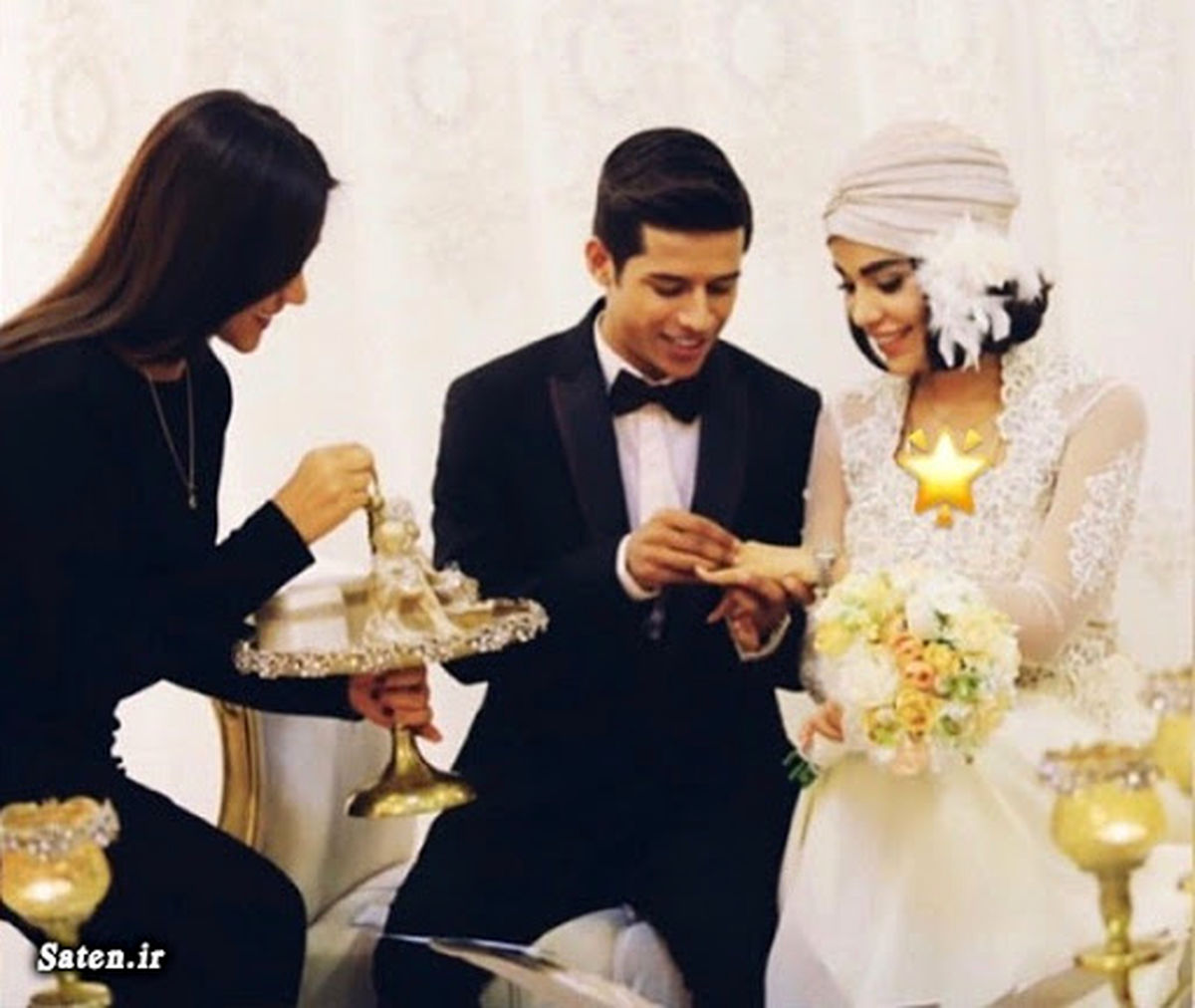 مهدی قائدی و همسرش در مهمانی شبانه روی کشتی + عکس