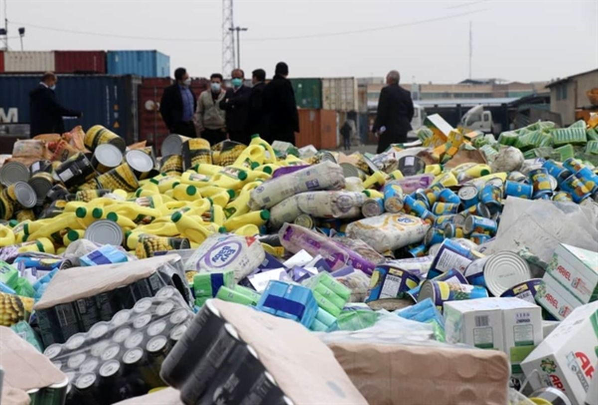 امحای 20 میلیارد ریال کالای غیر قابل مصرف در استان تهران